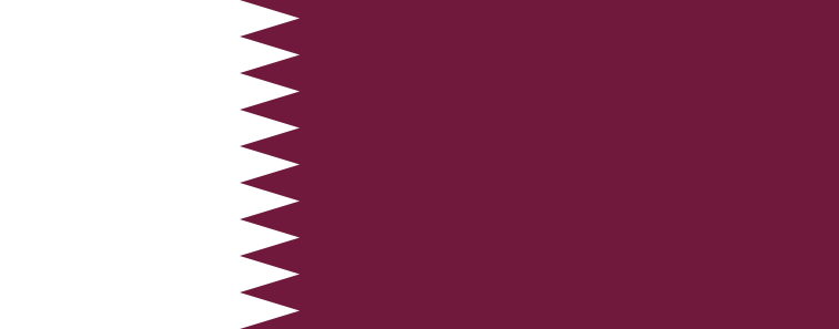Qatari flag - hassle free shipping