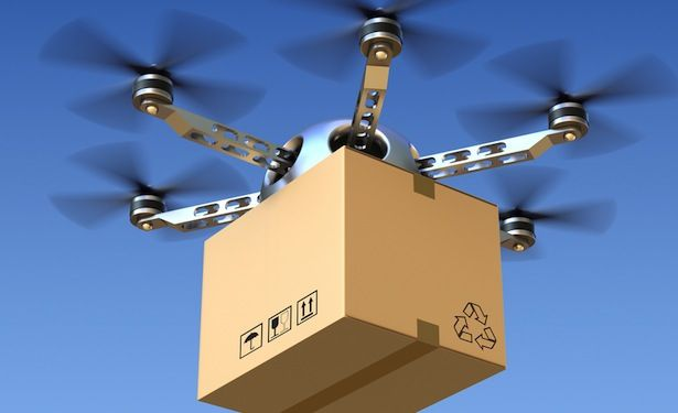 The parcel delivery method of the future